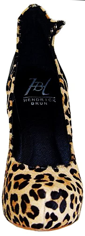 5f3766116ace Amazon.com | Hendrick Brun 'Elisha' Women's High Heel Leopard Pump, 8 |  Pumps