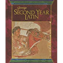 JENNEY'S SECOND YEAR LATIN GRADES 8-12 TEXT 1990C