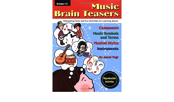 Music Brain Teasers Interesting Facts And Fun Activities For