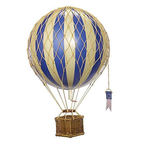 Travels Light Hot Air Balloon (Blue) - Authentic Models - Air Balloon Decorations (Balloon Air Hot)