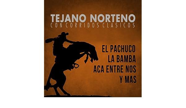 Tejano Norteno, Con Corridos Clasicos el Pachuco, La Bamba, Aca Entre Nos y Mas by Varios Artistas on Amazon Music - Amazon.com