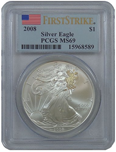 2008 S American Eagle First Strike Dollar PR69 PCGS