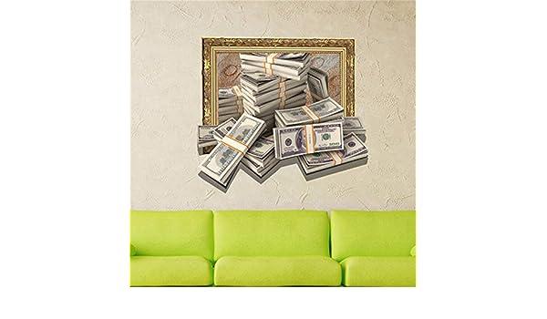 Amazon.com: LAONA 3D wall (money) Wall Paper/bedroom/lounge ...