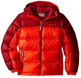 Marmot Kids Boy's Guides Down Hoody (Little Kids/Big Kids) Mars Orange/Brick XS (4/5 Little Kids)