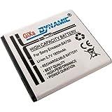 GiXa Leistungs-Akku Sony BA750 Ersatzakku Leistung Ersatz Akku passend fürSony Ericsson BA750 / BA-750 Xperia Arc / Arc S LT15i LT18i X12