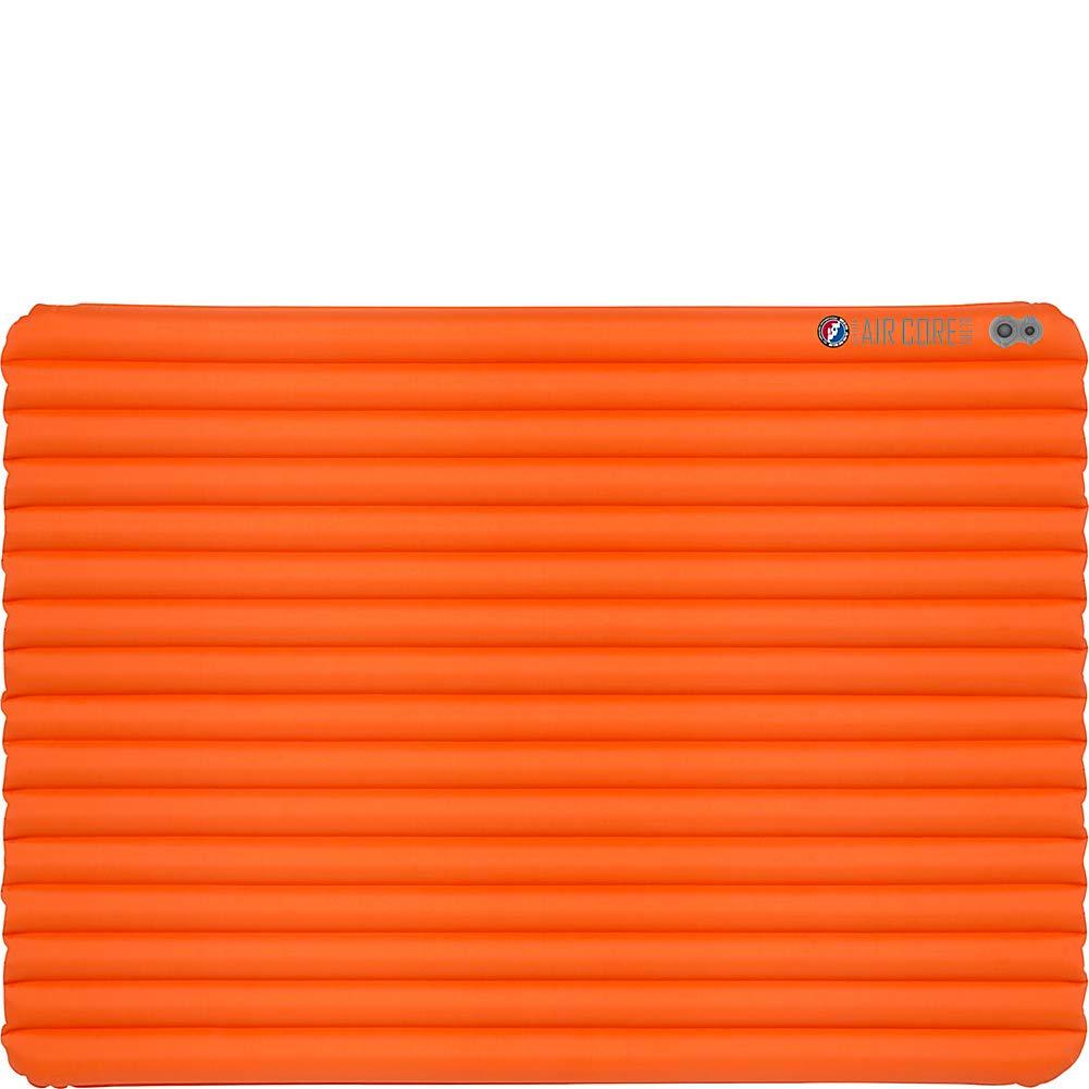Big Agnes Insulated Air Core Ultra Sleeping Pad 25x72 Wide Regular Orange