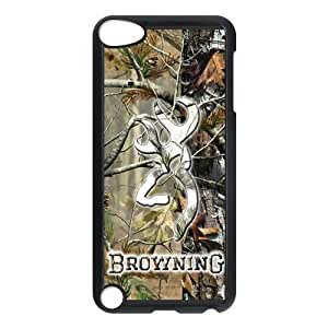 Canting_Good Browning Cutter Logo Real Tree Custom Case Cover Shell for Ipod Touch 5