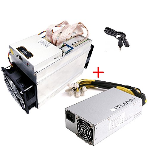 Bitmain Antminer T9+ 10.5TH/s 16nm ASIC Bitcoin Miner Include Bitmain PSU ad Power Cord
