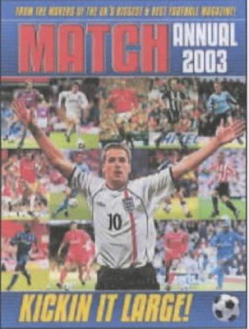 'THE ''MATCH'' ANNUAL 2003' PDF