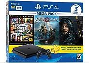 Paquete Consola PS4 Slim Megapack 13 con 3 juegos y membresía PSN 3 meses - Bundle Edition