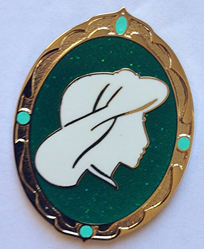 Disney Pin 102161: Princess Cameo Mystery Pin - Jasmine Pin from Aladdin