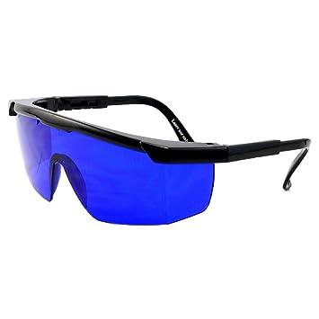 d5b60d729ce Golf Ball Finder Lunettes Surligner Blanc Lunettes de Soleil Bleu Lentilles  Special Bleu Verres Filtrer pour