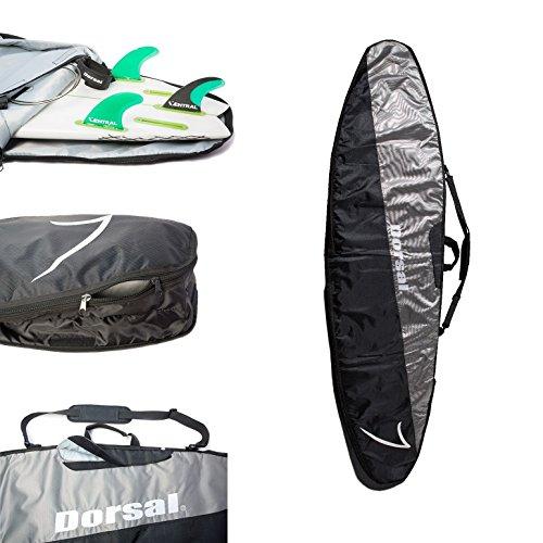 Dorsal Project StormChaser Traveler Longboard Surfboard Travel Bag - 8'