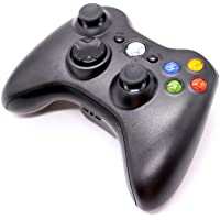 HUELE Wireless Controller Compatible with Xbox 360 - Black