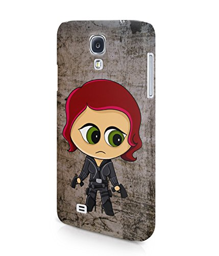 Chibi Black Widow The Avengers Plastic Snap-On Case Cover Shell For Samsung Galaxy S4