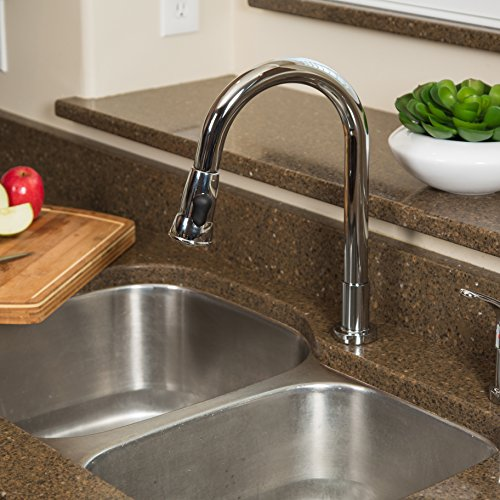 Grandview Pull Down Kitchen Faucet Gooseneck Style by Pacific Bay ...