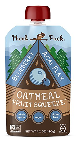 Munk Pack Oatmeal Squeeze Blueberry product image