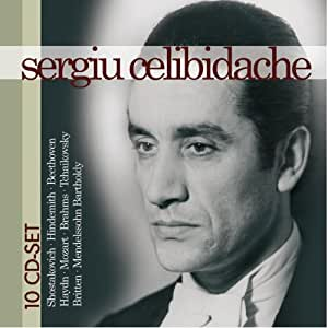 Sergiu Celibidache 10 CD Collection: Shostakovich, Hindemith, Beethoven, Haydn, Mozart, Brahms, Tchaikovsky, Britten, Mendelssohn Bartholdy