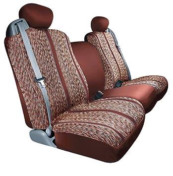 S 029237-14 Grey Saddle Blanket Fabric Saddleman Custom Made Rear Bench Seat Cover