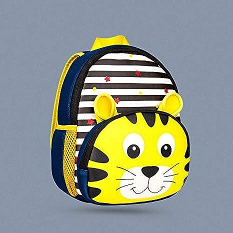 Amazon.com: Zoo Series Children Backpacks for Girl Boys Cute Cartoon 3D Lion Tiger Giraffe School Bags Waterproof Kindergarten: Kitchen & Dining