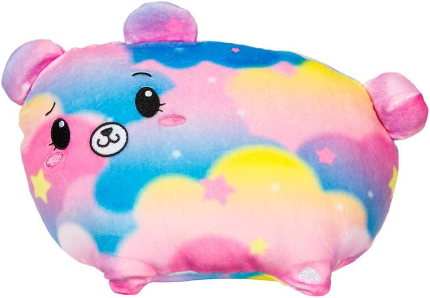 """Pikmi Pops Jelly Dreams - Hushy The Bear - Collectible 11"""" LED Light Up Glowing Plush Toy"""