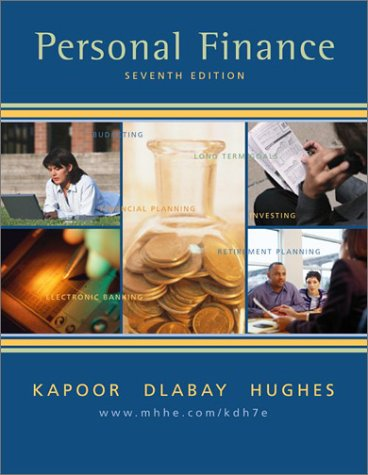 Personal Finance (The Mcgraw-Hill/Irwin Series in Finance, Insurance, and Real Estate)