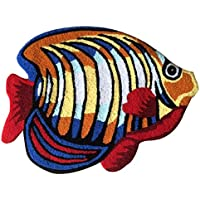 YOUSA Colorful Fish Shaped Bedside Rug Animal Design Area Rugs 23.631.5