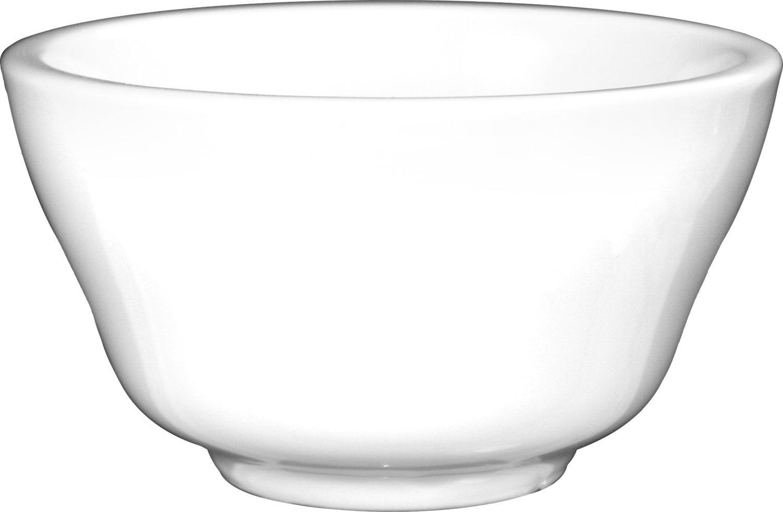 ITI BL-4 Bristol Porcelain 4-1/8-Inch Fine Porcelain Boullion, 7.5-Ounce, Bright White, 36-Piece