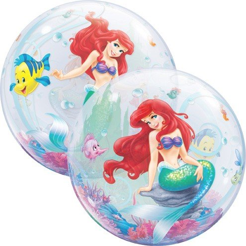Ballooney's~Disney's Ariel the Little Mermaid Bubble Balloon (Ariel Bubble)