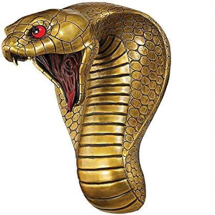 Design Toscano Egyptian Cobra Snake Goddess Wall Sculpture