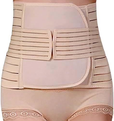 e85a1395d6 Women Postpartum Girdle Corset Recovery Belly Band Wrap Belt