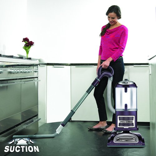 Shark Navigator Lift-Away Deluxe Upright Vacuum, Purple (NV361PR) by SharkNinja (Image #5)