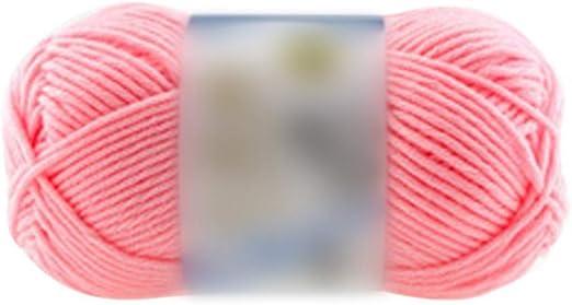Hilo de algodón de leche Hilo de lana de bebé cálido para tejer ...