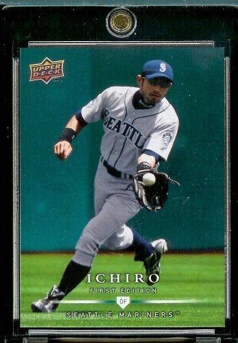 2008 Upper Deck First Edition # 114 Ichiro Suzuki - Mariners - MLB Baseball Trading Card