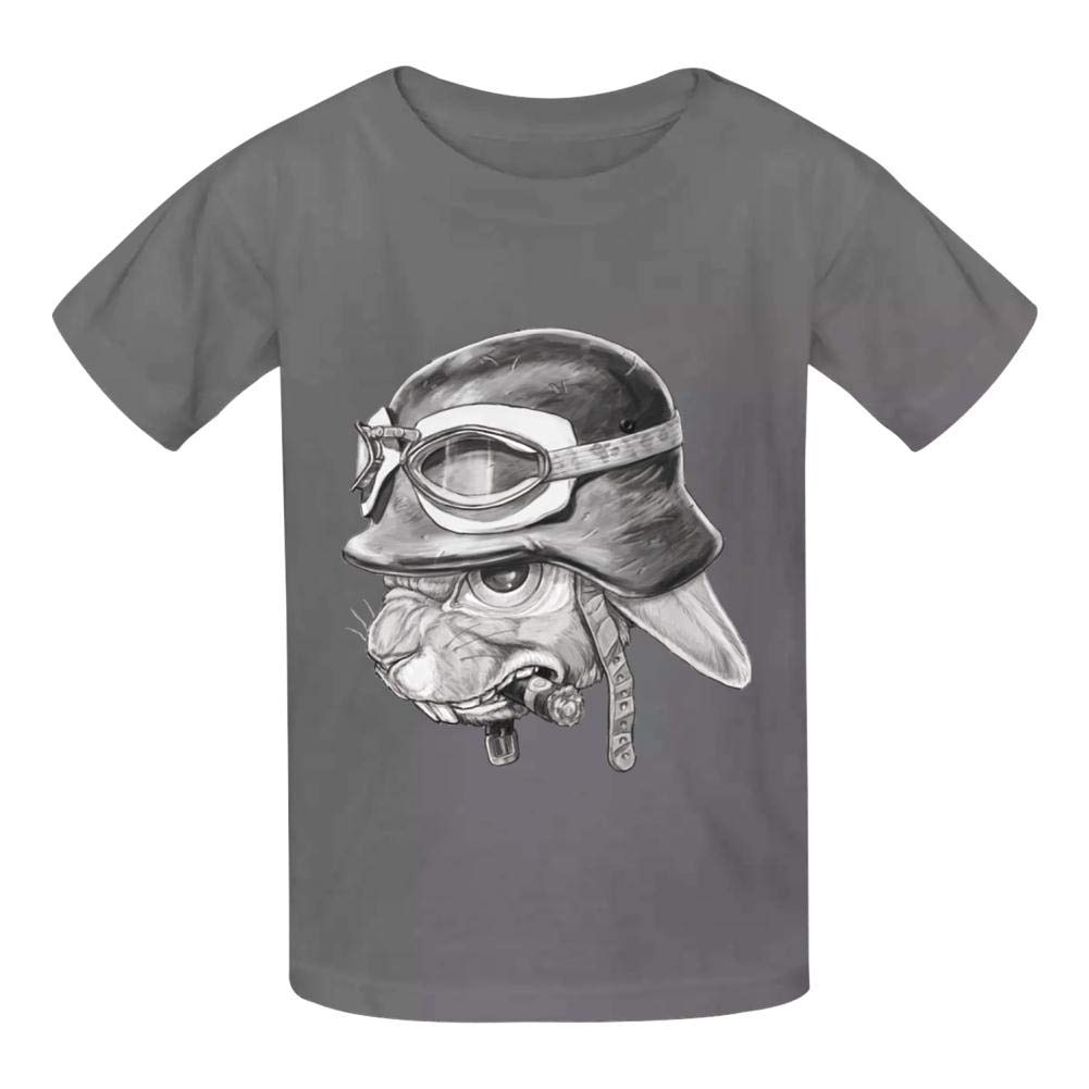 War Rabbit Childrens Comfortable and Lovely T Shirt Suitable for Both Boys and Girls