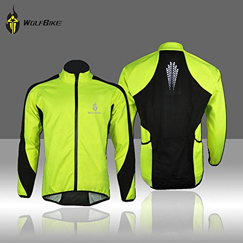 Docooler-Fleece-Thermal-Cycling-Long-Sleeve-Jersey-Winter-Outdoor-Sports-Jacket-Windproof-Wind-Coat-Bicycle-Cycle-Wear-Clothing
