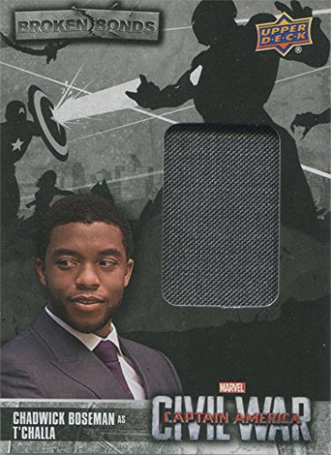 T'challa Costume (Captain America Civil War Costume Card BB-TC Chadwick Boseman as T'Challa)