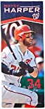 "MLB Washington Nationals Player EnduraCool Microfiber Towel, 12"" x 30"", Navy (Bryce Harper)"