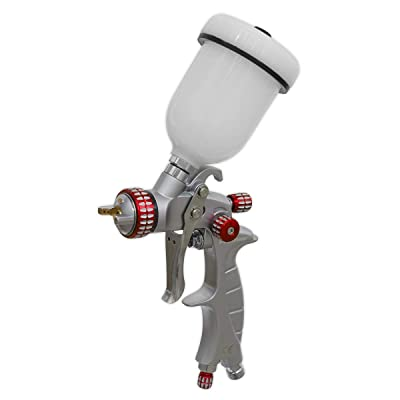 Sealey HVLP04 HVLP Gravity Feed Touch-Up Spray Gun 1mm Set-Up: Home Improvement