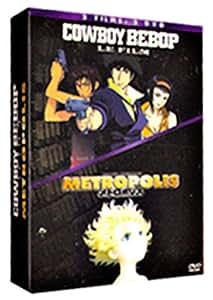 Coffret Manga 2 DVD : Metropolis / Cowboy bebop