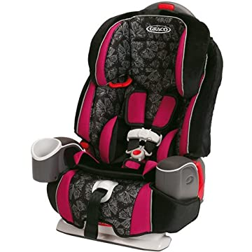 Argos 70 3-in-1 Toddler Car Seat (Butterfly Bliss)