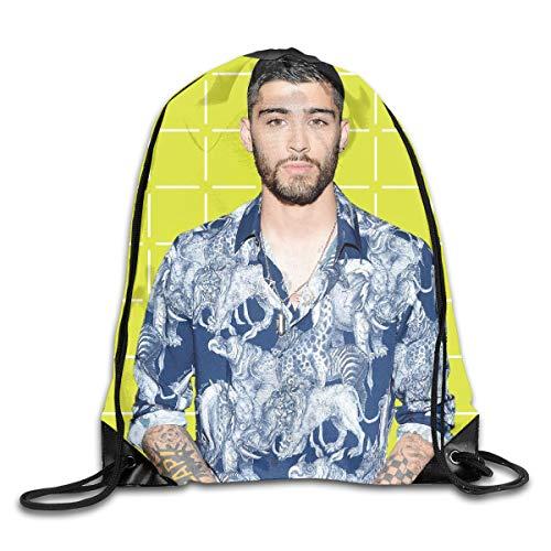 Zayn Malik Drawstring Backpack Gymbag Gymsack Gym String Bag for Shopping Sport Yoga (Zayn Malik Shoes)
