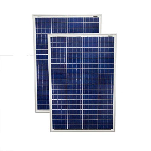 Mighty Max Battery 200 Watt Solar Panel Poly 2pc 100w Watts 12V RV Boat Home – 2 Pack brand product Review