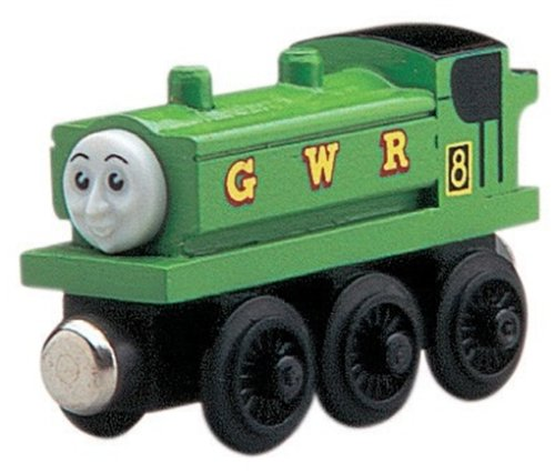 Learning Curve Thomas and Friends Wooden Railway - Duck The Gwr Pannier Tank Engine - Friends Wooden Railway System