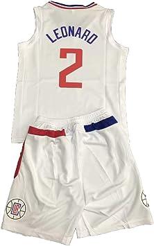 FILWS Jerseys De Baloncesto Kawhi Leonard Conjunto De Uniforme De ...