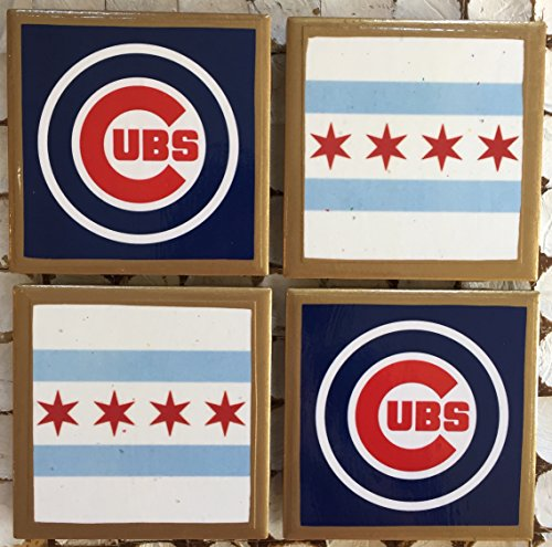 Coasters! I LOVE Chicago coasters with gold ()