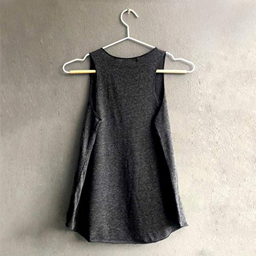 Mangas Tallas Tops Sport Sammoson Tank Grandes 2019 Camisetas Elegante ❤️s~2xl Blusa Fiesta Verano Negro19 Mujer Sin RqRtAXw