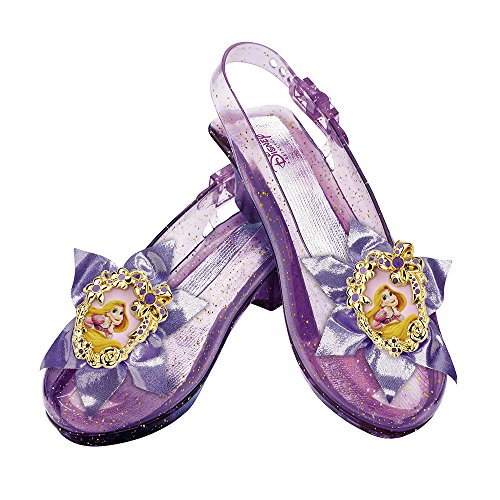 Shoes For Costumes (Disney Princess Tangled Rapunzel Sparkle Shoes)