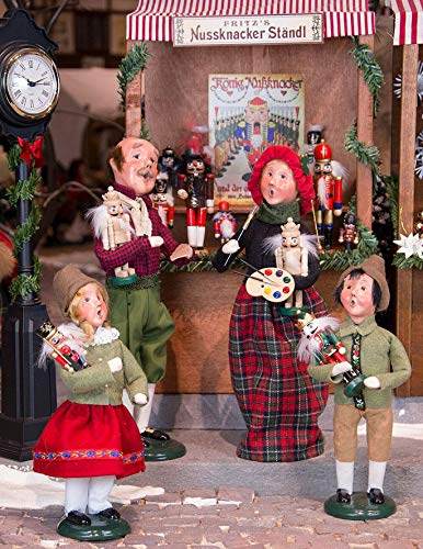 Holiday Figurines - Byers Choice Nutcracker Peddler Family - 4-Piece Set - New for Christmas 2018