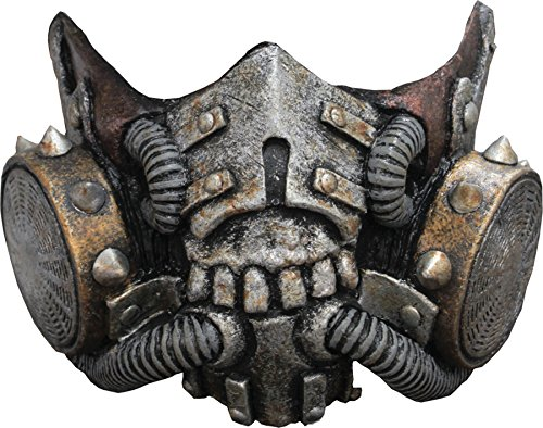 SALES4YA Costume Mask Doomsday Muzzle Mask -Scary -